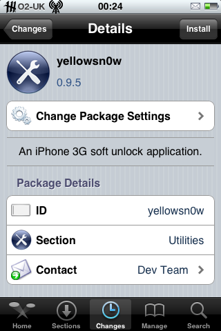 yellowsn0w in Cydia. I installed in Installer, but Cydia gave a better screenshot ;)