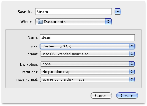 Using Steam on a Mac with a case-sensitive drive | Josh