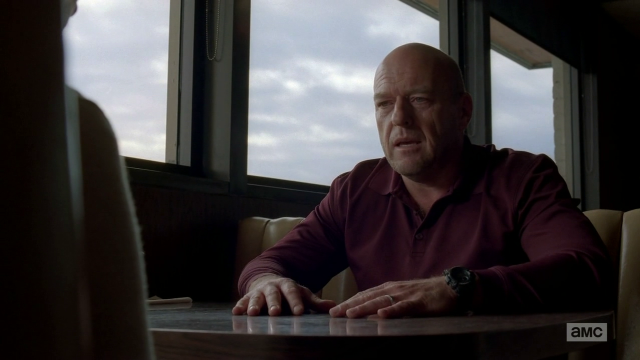 Breaking Bad S5E10 Hank in the diner
