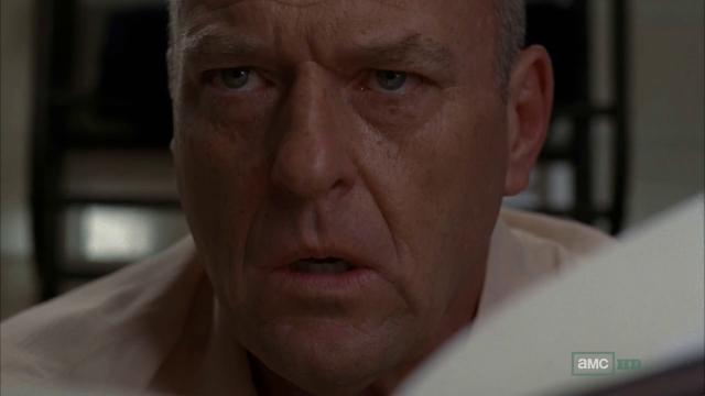 Breaking Bad S5E8 Hank Knows Heisenberg is Walt