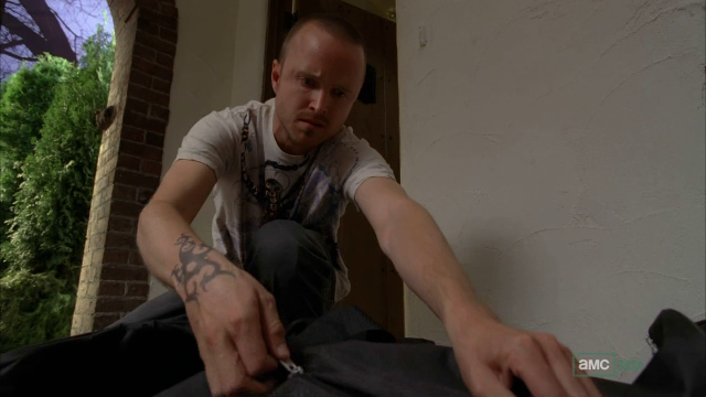 Jesse gets some unexpected, and unwanted cash from Walt