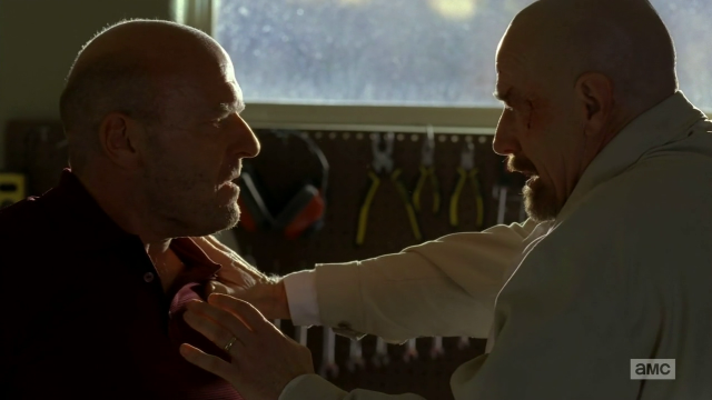 Breaking Bad S5E9 Walt and Hank confrontation
