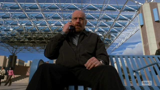 Breaking Bad S5E12 Walt waiting for Jesse