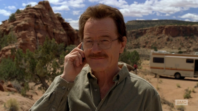 Breaking Bad S5E14 - Flashback to the first cook